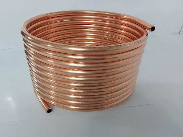 Spirale aus Kupferrohr 12x1mm aus 10m mit Außen-Ø ca. 30cm (Kupferrohrspirale)